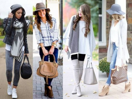 gray and white street styles