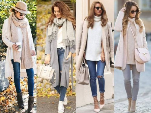 winter pastel street looks