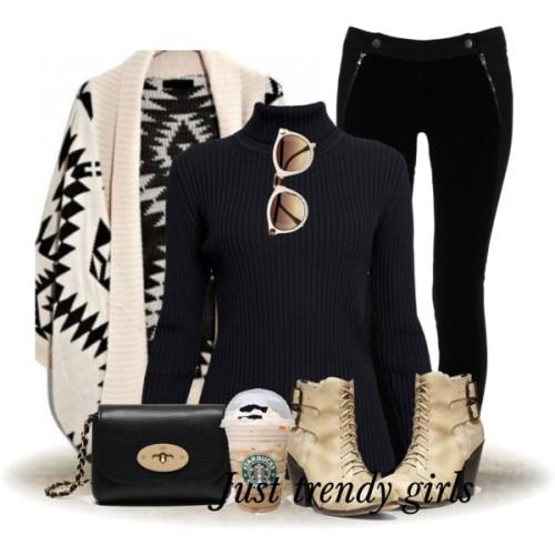 aztec cardigan outfit