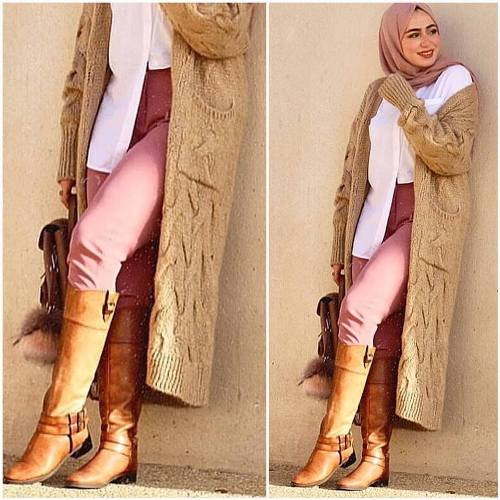 5b6c2f543a9 A simple and classy hijab outfit which is why it would be an amazing date  night outfit