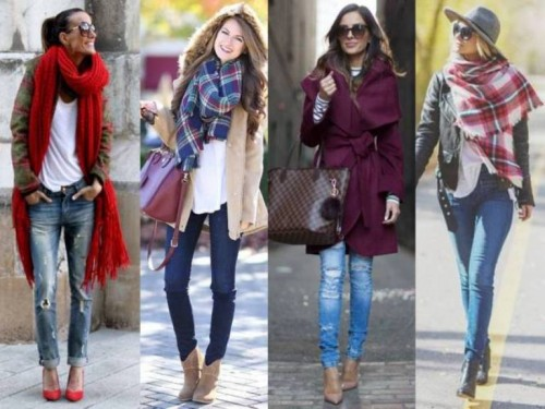 maroon winter outfits
