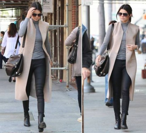 neutral street style outfit