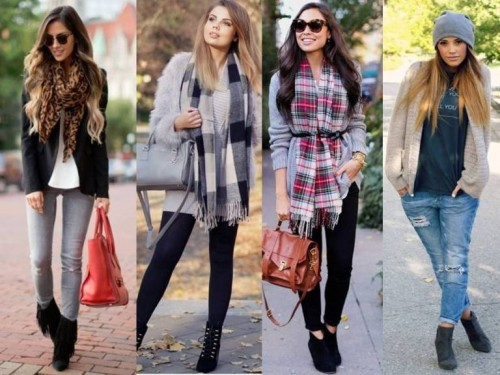 plaid scar street looks