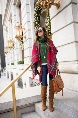How To Wear Blanket Like A Pro Just Trendy Girls