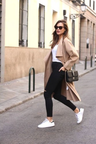sporty casual street style looks just trendy girls