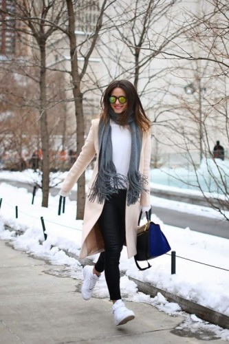 trench coat sporty casual