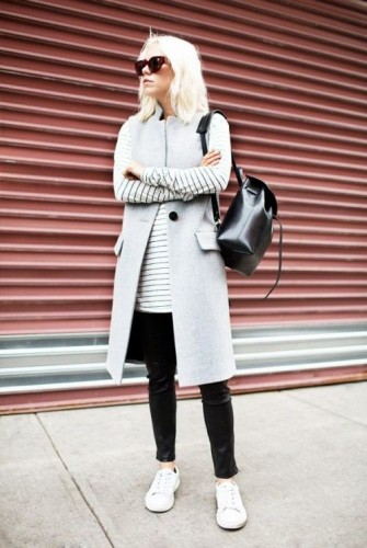 vest sporty casual