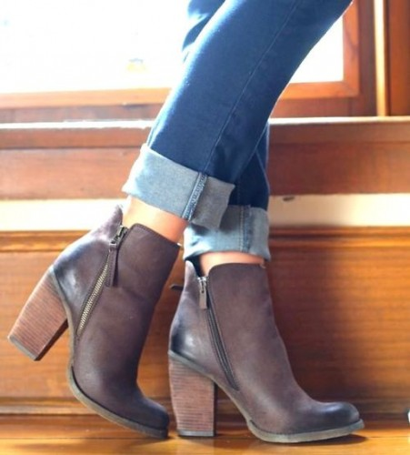 High Side Buckle Boot