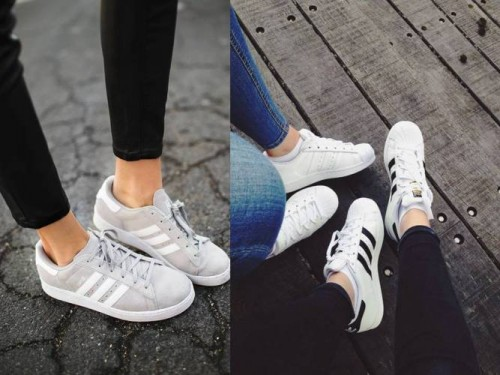 adidas casual look