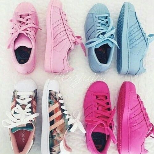 adidas super color light rosa