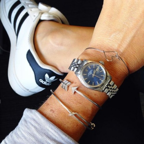 adidas with watch