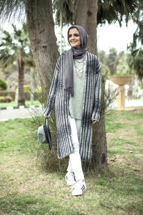 hijab chic winter style