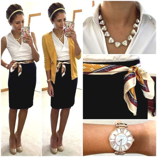 pencil skirt elegant outfit