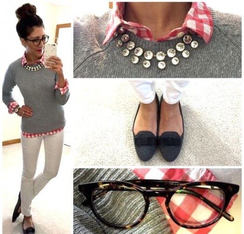 preppy casual look