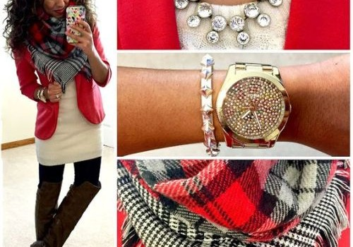 Stylish outfits combination for a preppy look