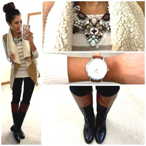 winter and fall vest style