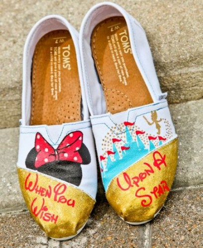 Disney-inspired shoes