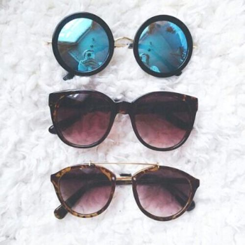 Mirror Sunglasses In All Shapes Just Trendy Girls