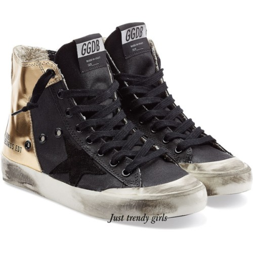 golden ghoose sneakers black