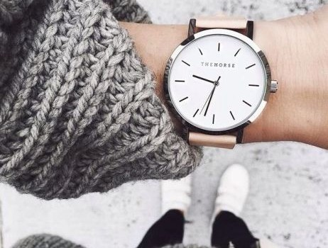 Stacking bracelets with watches