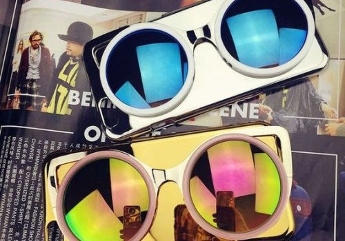 Stylish mirror sunglasses