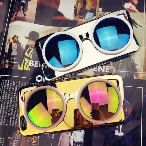 round mirror sunnies