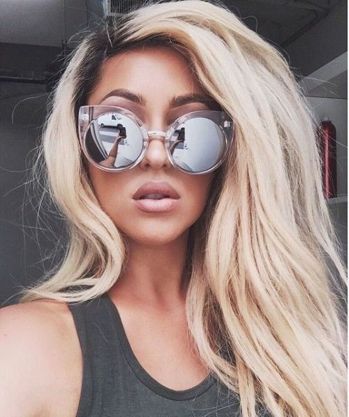 silver mirror sunnies
