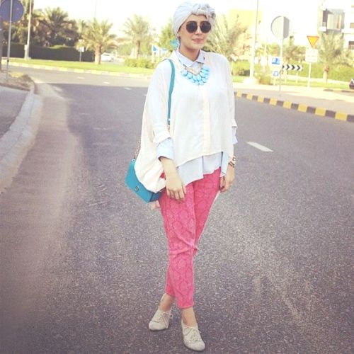 f8d1d7d0e77 Funky hijab style by Asia Akf – Just Trendy Girls