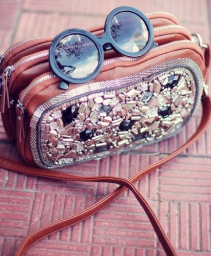 sunglasses with bag