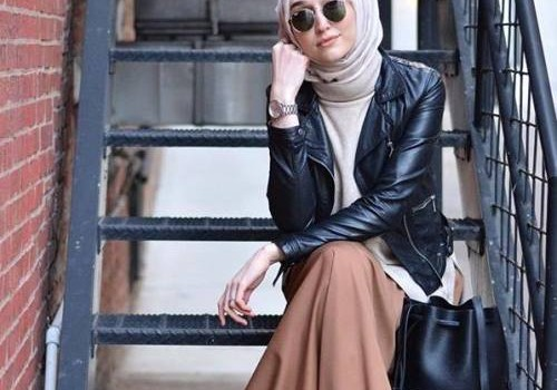 Long and modest hijab outfits