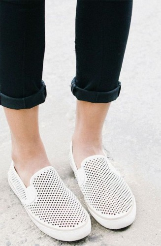 Tomboy-cool style slip on