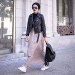 How to style Adidas shoes with hijab