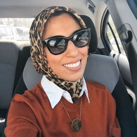 black sunnies with hijab