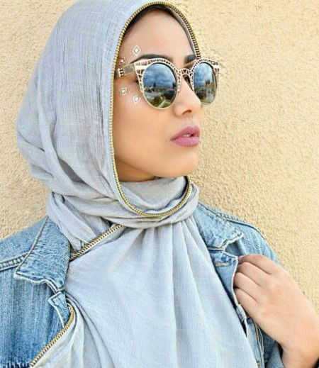 cateye sunnies with hijab