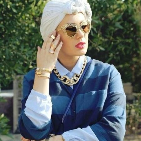 how to wear turban with glasses