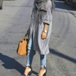 How to wear shirt dress with hijab