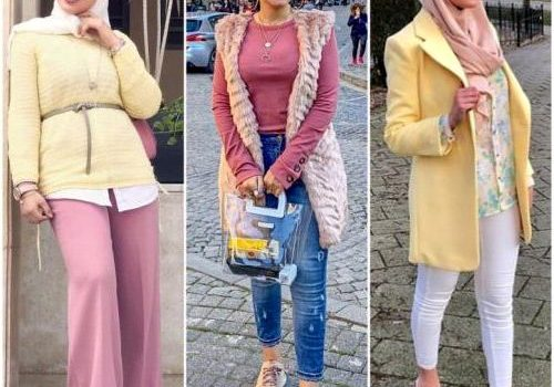 Casual hijab wear spring 2019