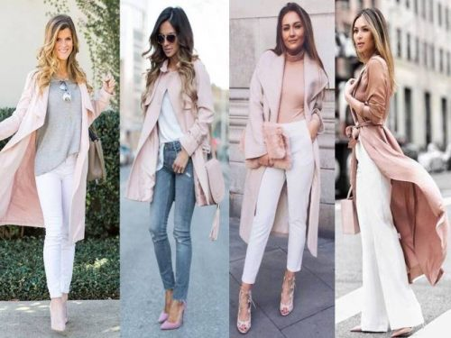 b16f4e53d2 How to wear the blush pink outfits – Just Trendy Girls