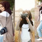 Chic hijab outfits from instagram