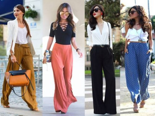 how to wear palazzo pants in summer