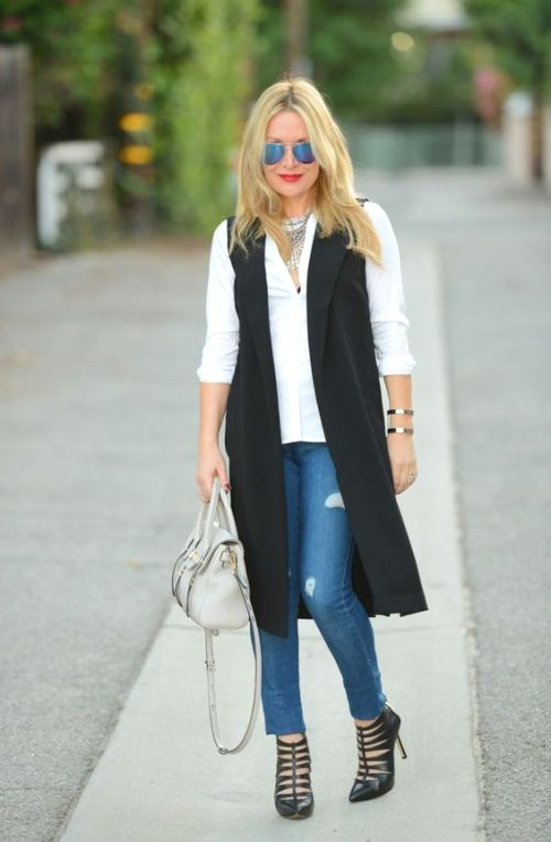 The Easiest Way To Rock A Long Vest