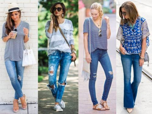 blue denim street style outfits