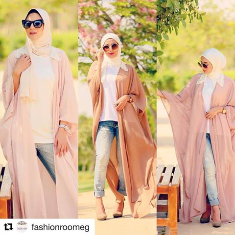 blush and nudes abaya style
