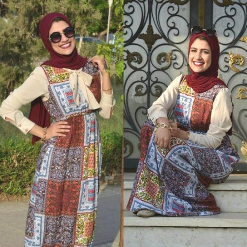College Hijab Outfits by Egyptian Fashionista u2013 Just Trendy Girls