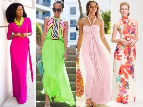 bright summer dresses