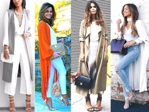 classy long jacket outfits