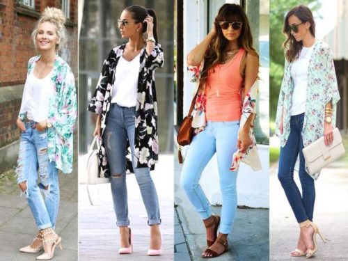 How To Style Your Kimono Cardigan Just Trendy Girls