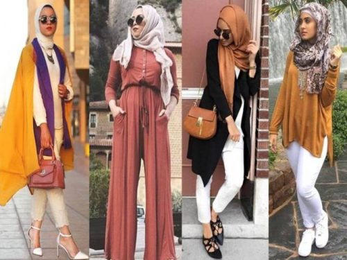 how to wear tan hijab