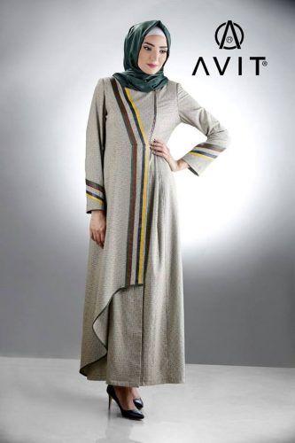 long maxi dress avit hijab