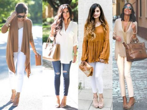 mocha street style outfits
